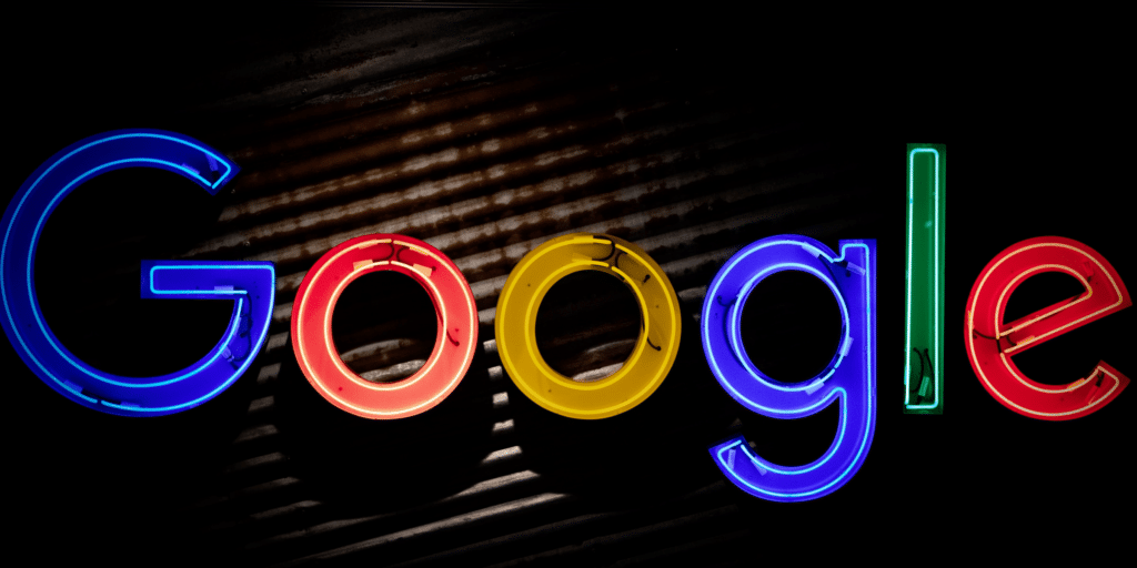 The Google sign. Google is the main platform in paid search. Credit: Mitchel Luo