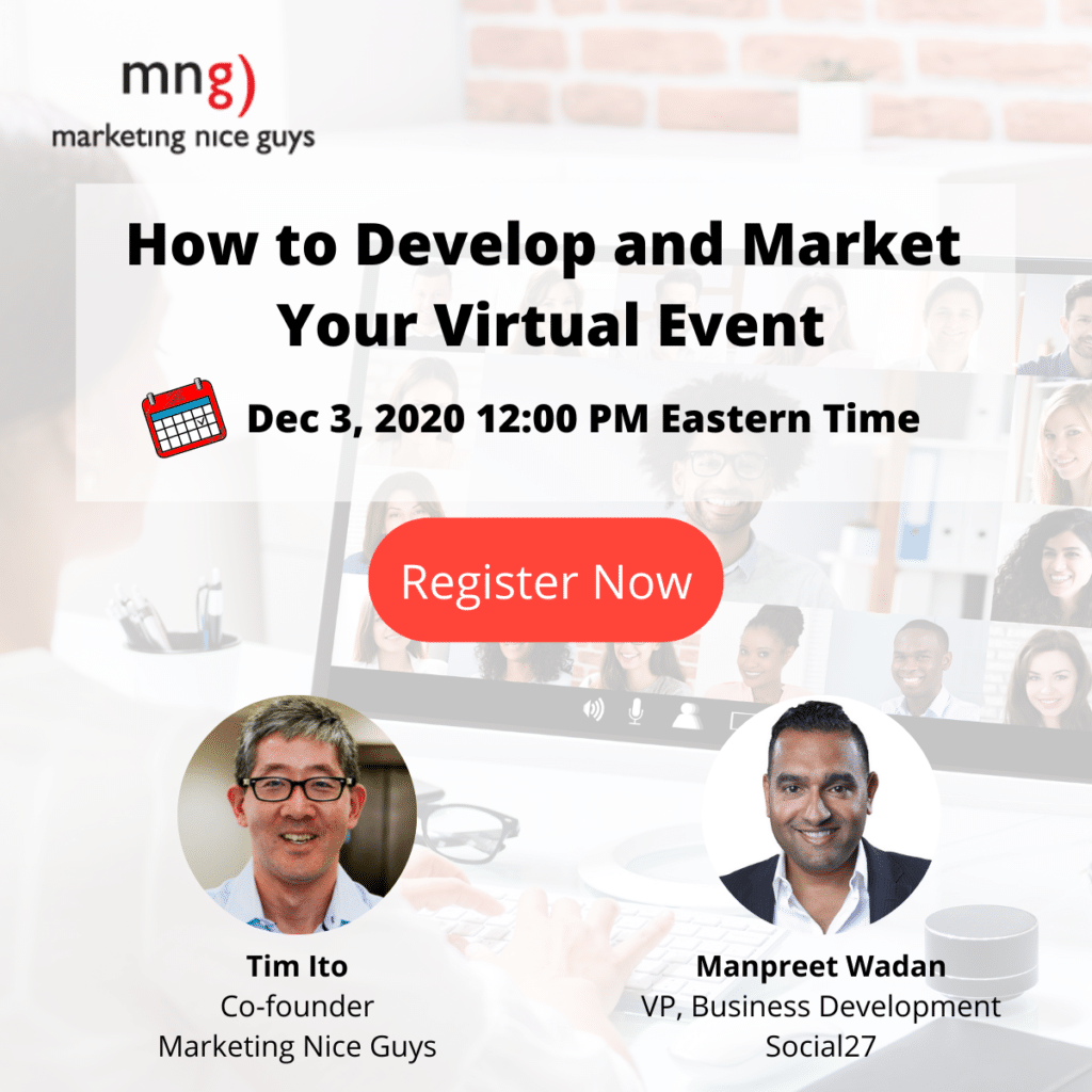 How to develop and marketing your virtual event