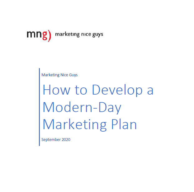 How to Develop a Modern Day Marketing Plan cover