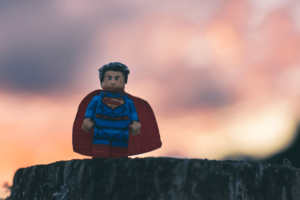 A picture of the not-so-average Superman. It's OK for marketers to embrace average during the holidays.